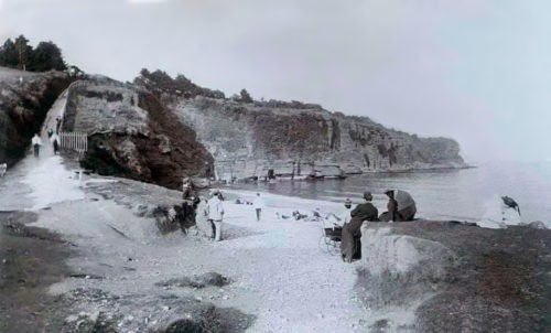 Goodrington Beach History