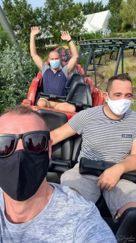 Masks are mandatory on all rides Thorpe Park 2020