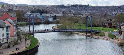 Cricklepit Bridge 2021 Exeter