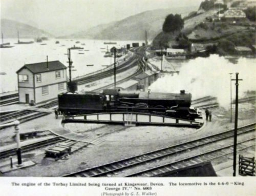 Dartmouth Steam Railway, Kingswear, History