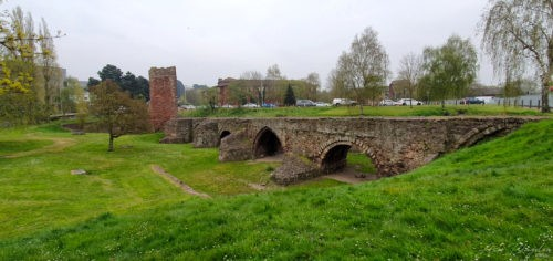 Medieval Exe Bridge Exeter, 2019