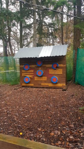 Axe Throwing at Skirmish Exeter