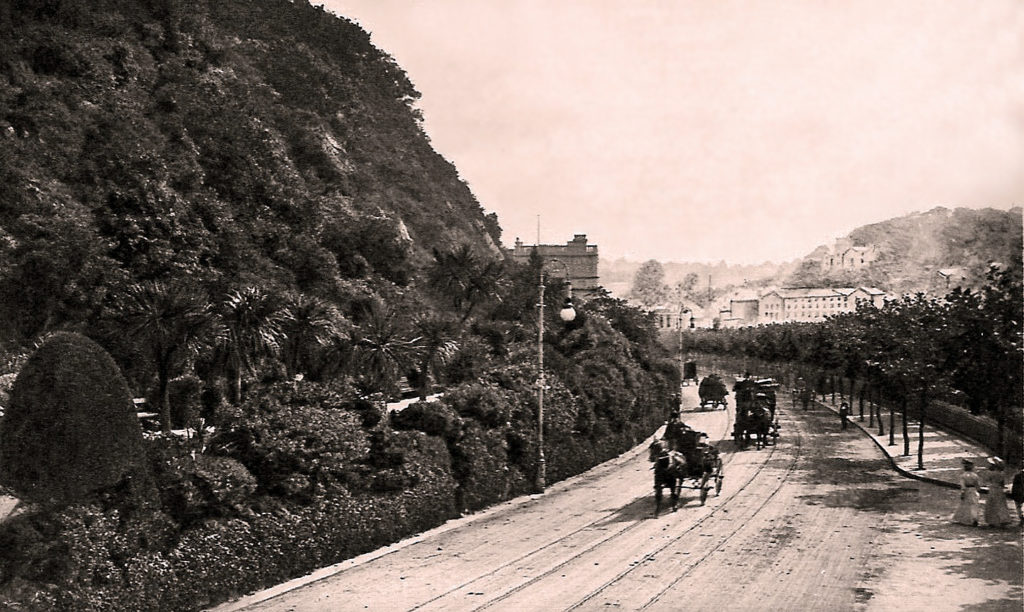 Princess Gardens 1897, Torquay - History