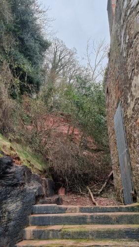 Landslide Elberry Cove 2021 3