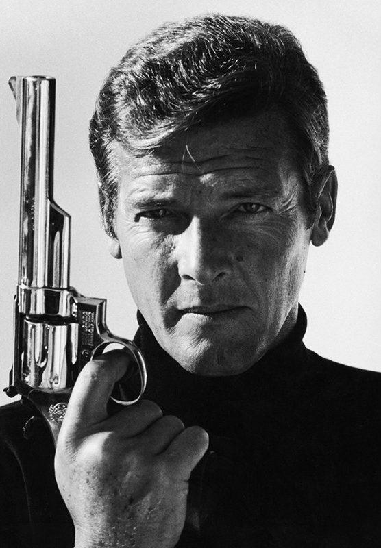 Terry O'Neill Roger Moore - Ashcroft Art