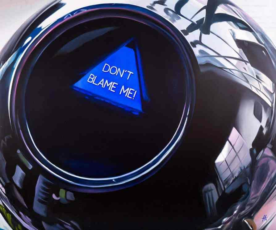 Anthony Haylock Magic 8 Ball - Ashcroft Art