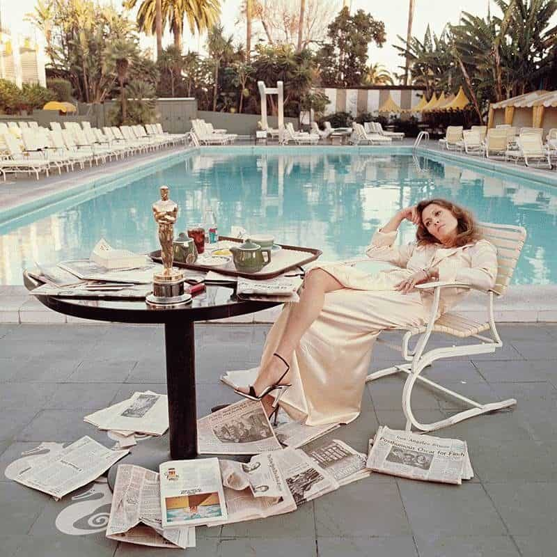Co-signed photography of Faye Dunaway available from Ashcroft Art