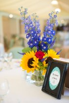Harry Potter, Wedding, Wedding theme, Sunflowers, table details