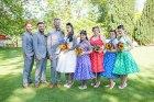 bride, groom, happy, love, fun, group photo