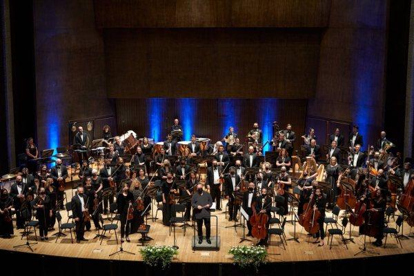 L'Orchestre Symphonique de Jérusalem.  Photo : Avina Cullen
