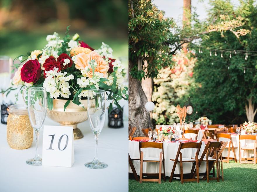 studio la fleur, fall rose bouquet, autumn rose bouquet, studio la flour, griffith house, anaheim wedding
