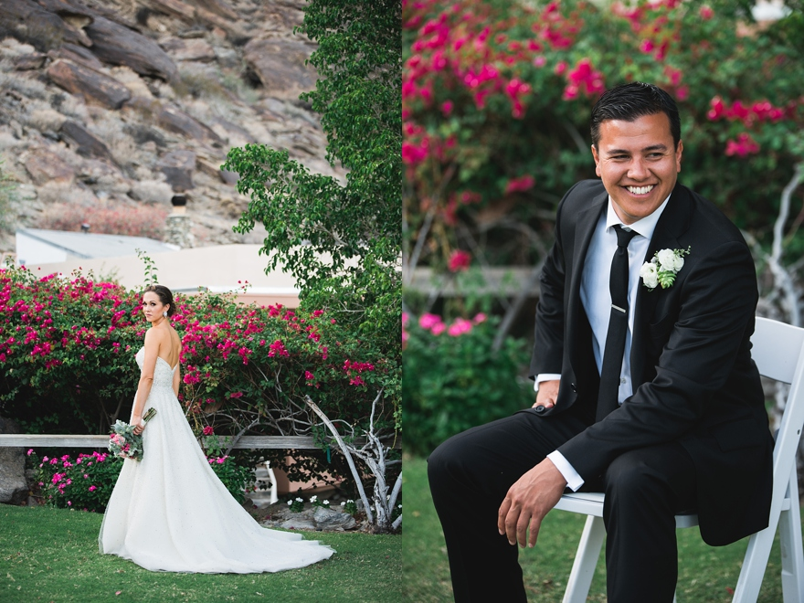 spencers palm springs wedding, randy and ashley weddings, spencers wedding, palm springs florist