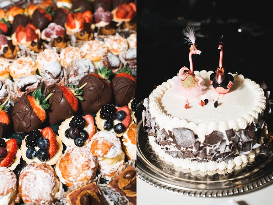 spencers palm springs wedding, bougainvillea room, spenders restaurant catering, dessert table