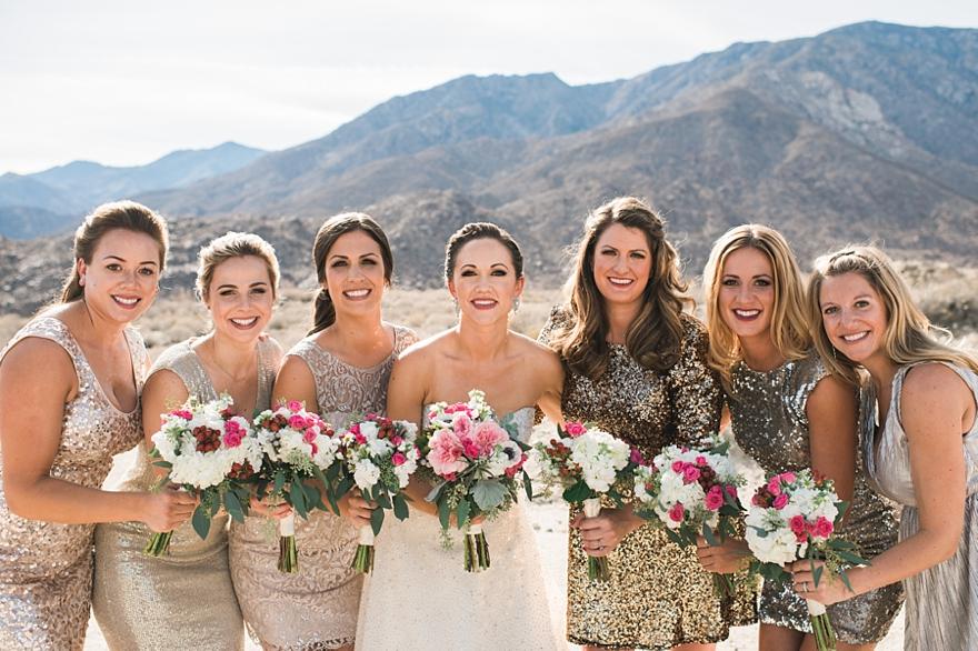 palm springs wedding, gold and black wedding, gold and pink wedding, desert wedding, palm springs florist