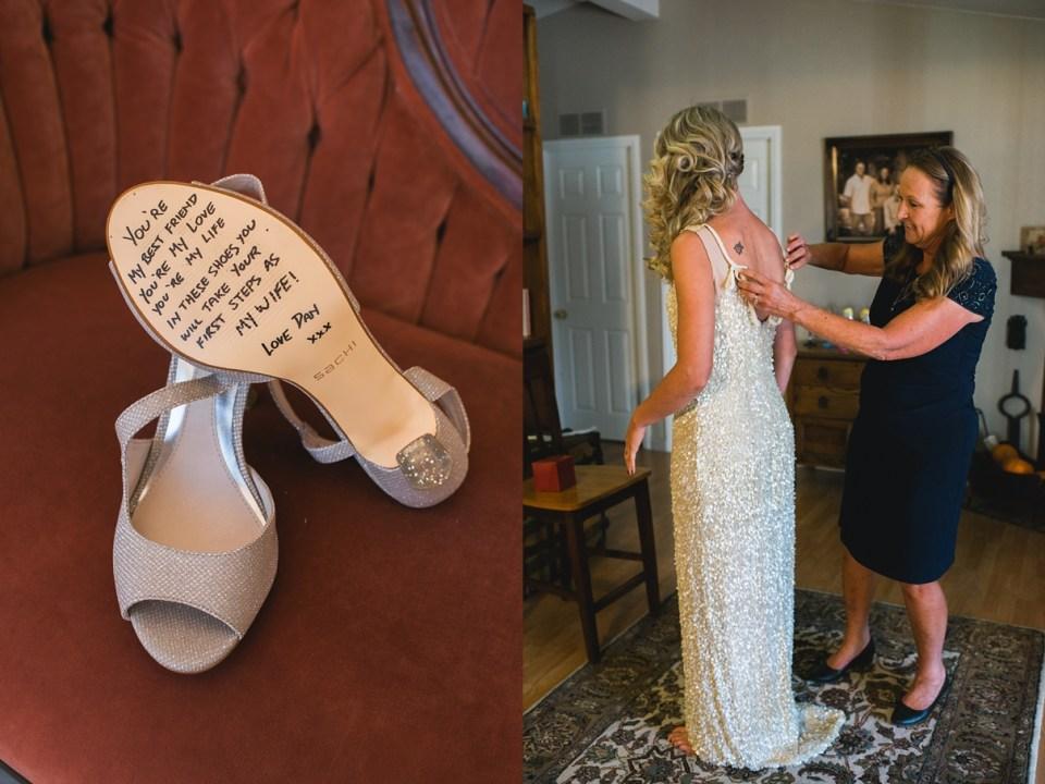 backyard vintage carnival wedding, bridal gift, surprise gift for brides