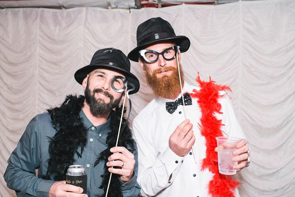 DIY photo booth, circus photo booth