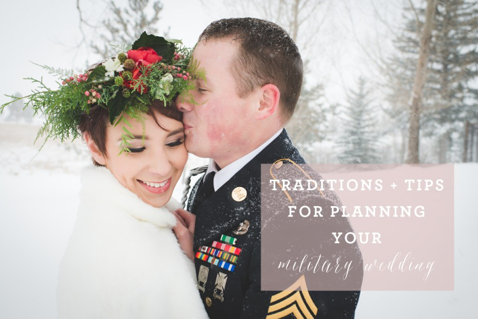 military wedding traditions, how to plan a military wedding