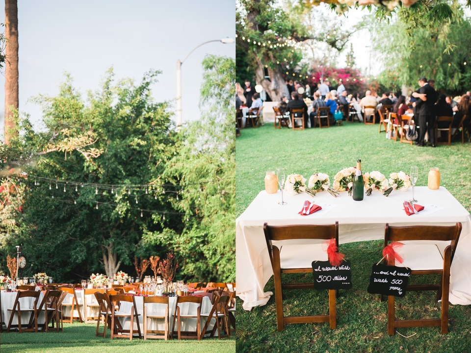 wedding reception seating options
