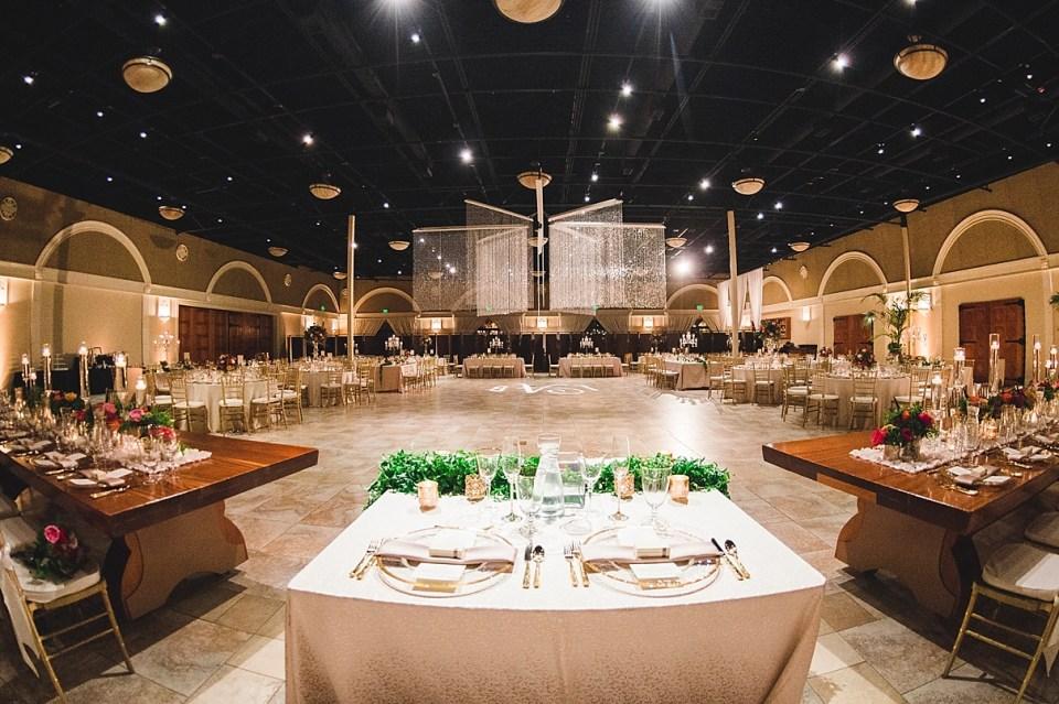 wedding reception seating options, ballroom reception seating, casa real wedding reception