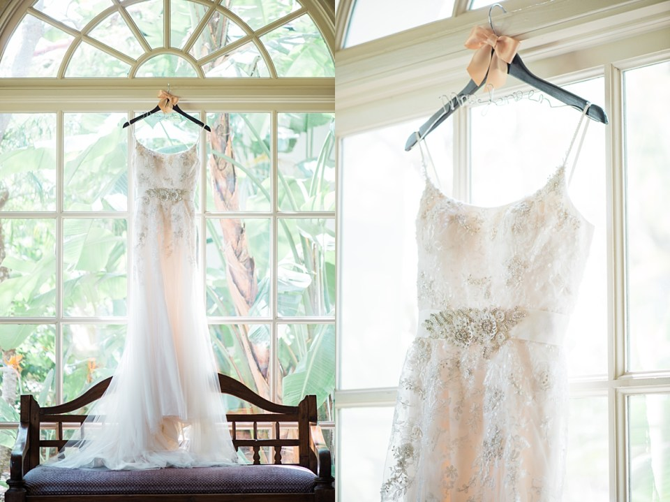 white davids bridal gown, spanish hills country club wedding