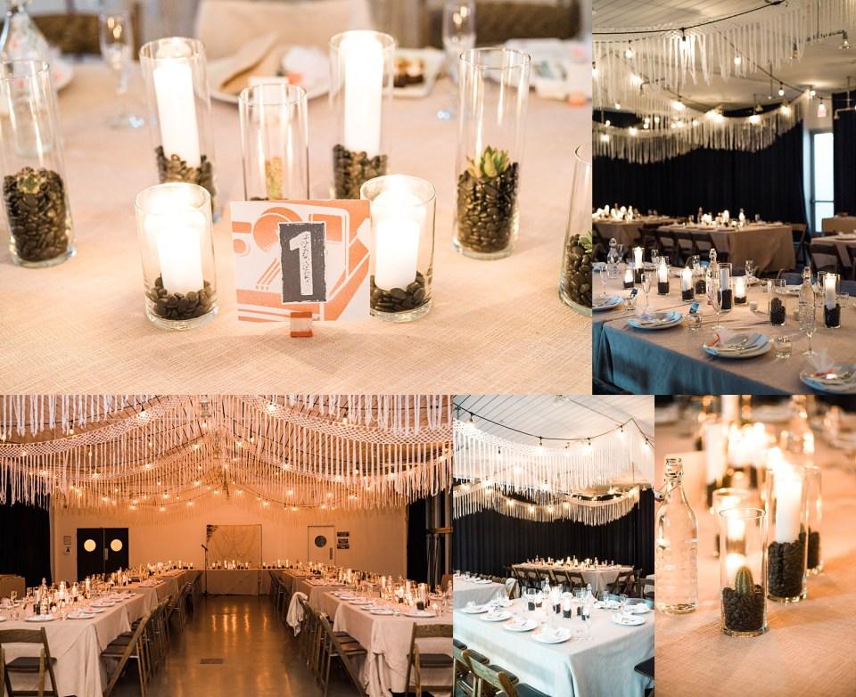 diy boho wedding reception photos