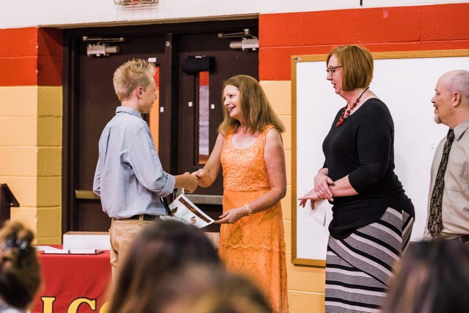 Falcon middle school graduation ceremony