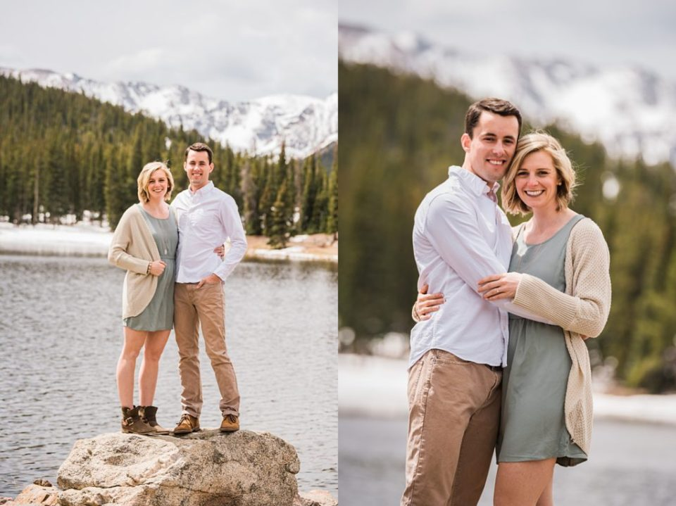 Echo Lake Park Engagement Photos