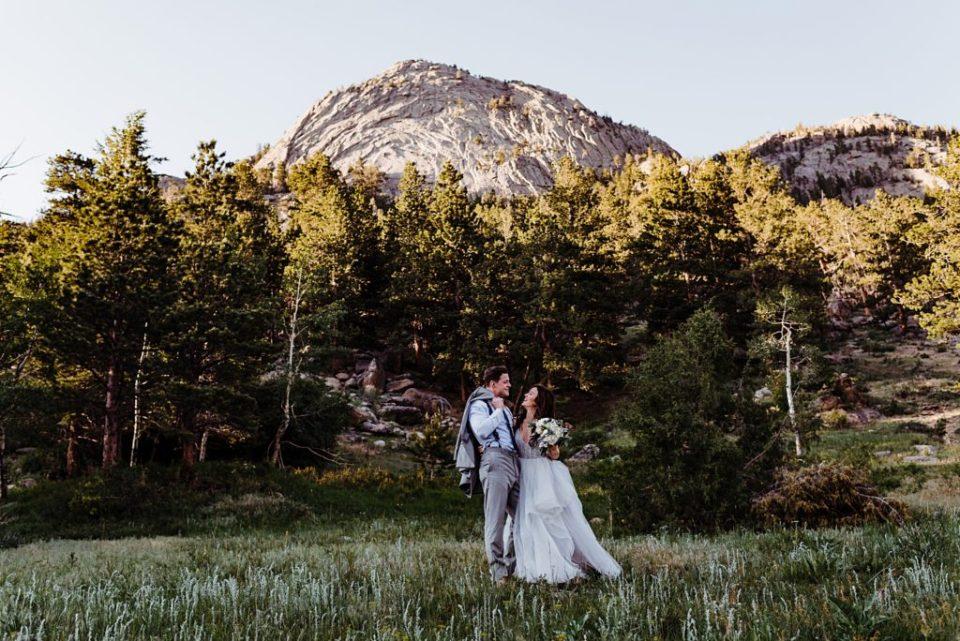 wedding photos in estes park