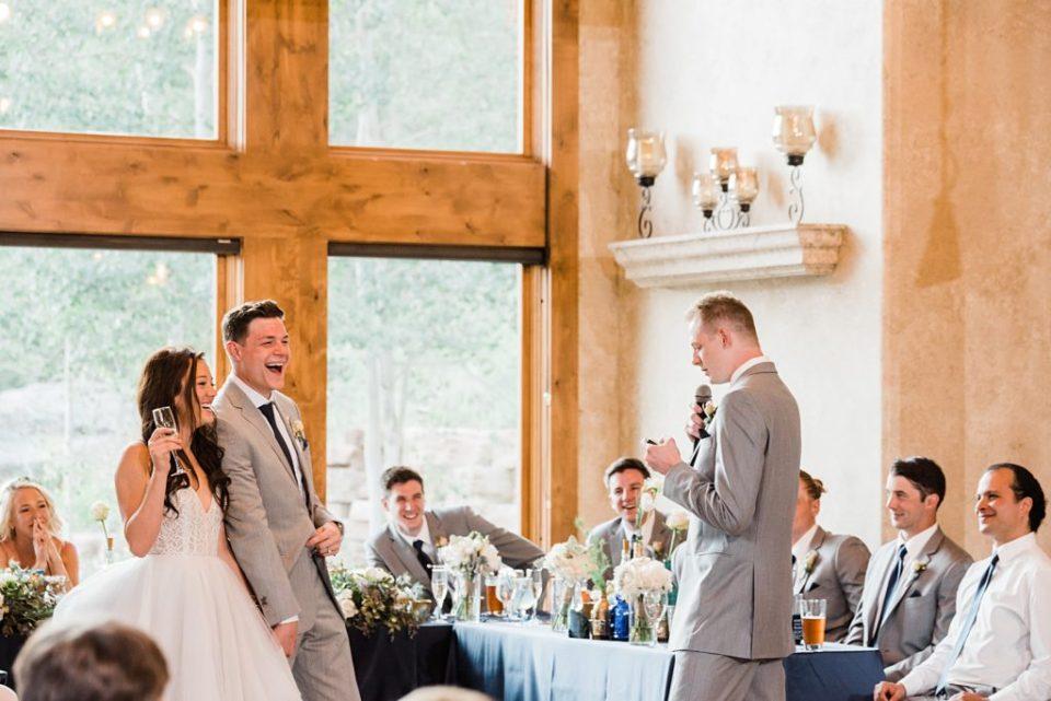 della terra wedding reception photos