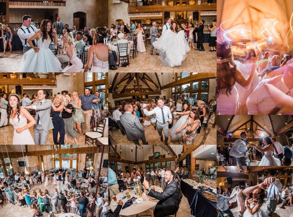 della terra wedding reception