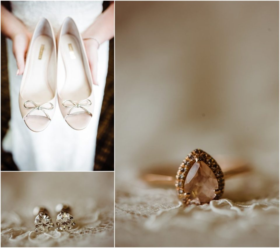 bridal jewelry details