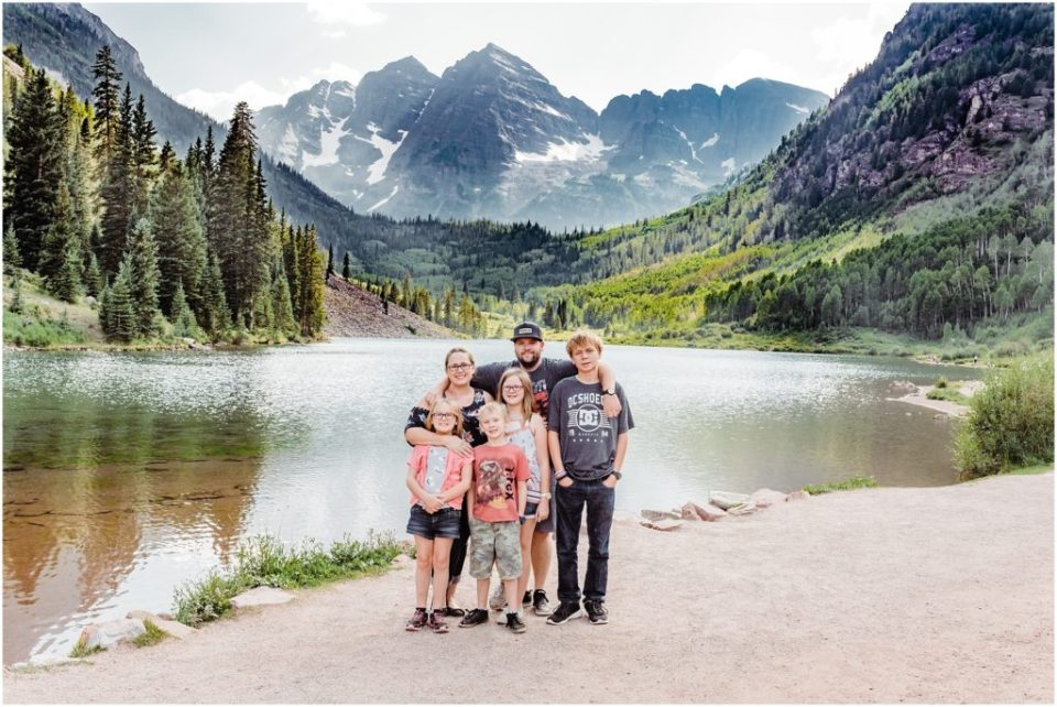 maroon bells family session