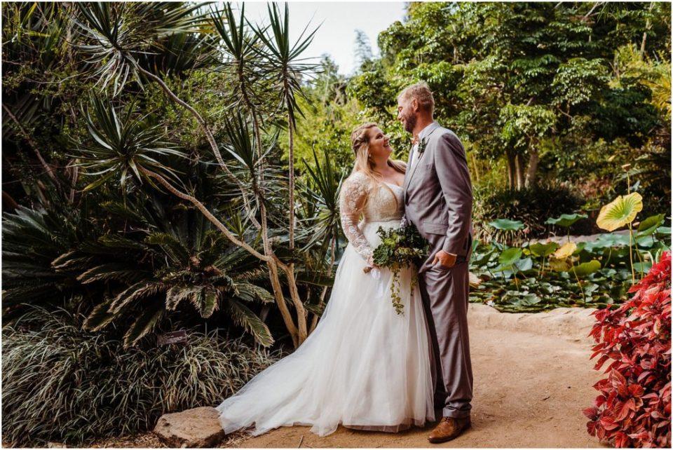 san diego botanical garden wedding