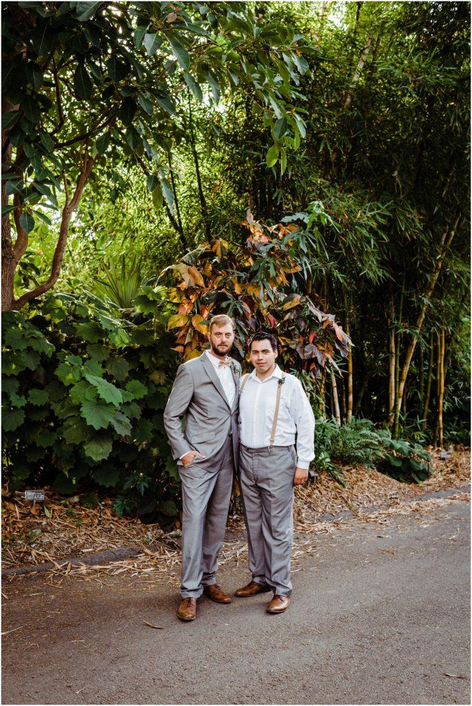 groomsmen together