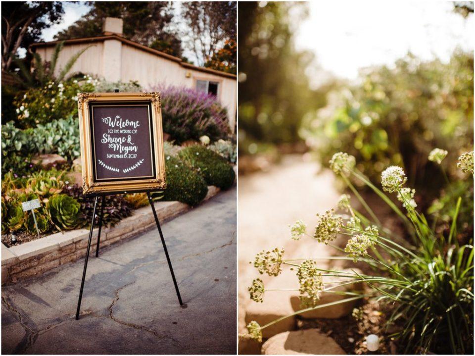 san diego botanical garden wedding details