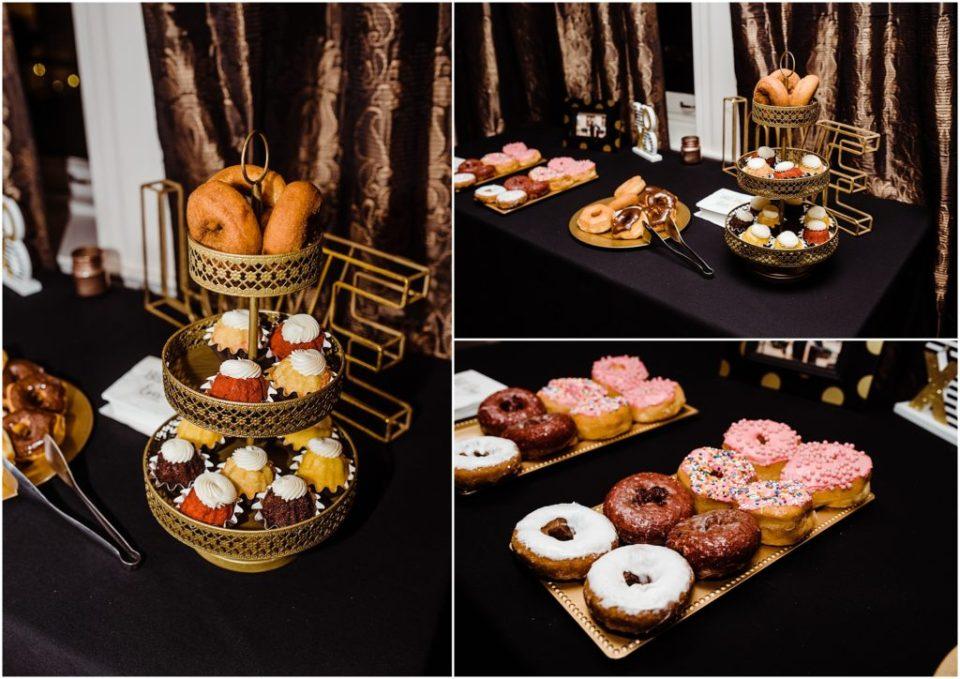 amy's donuts dessert bar colorado springs wedding
