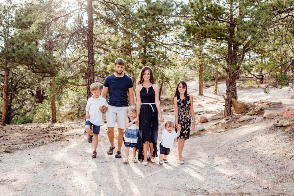 Colorado Springs family photos at Palmer Park in Colorado Springs