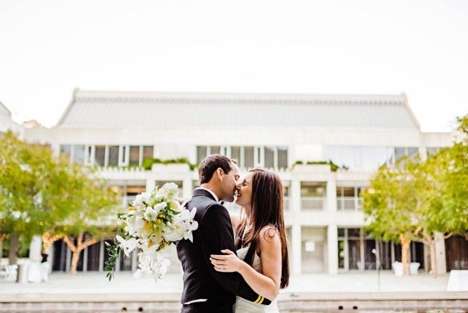 skirball center wedding photos