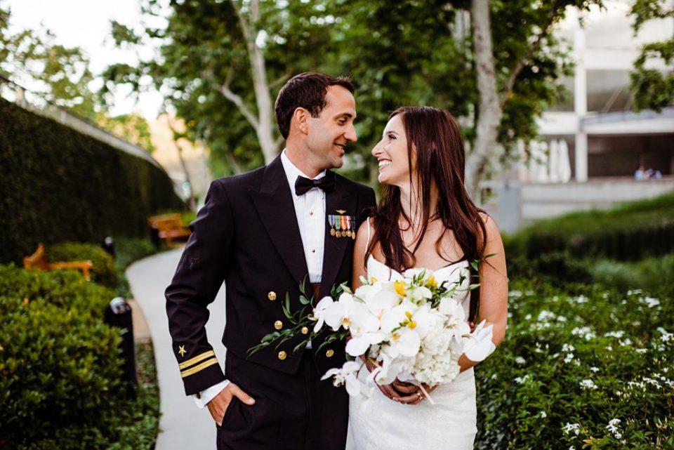 top gun navy wedding
