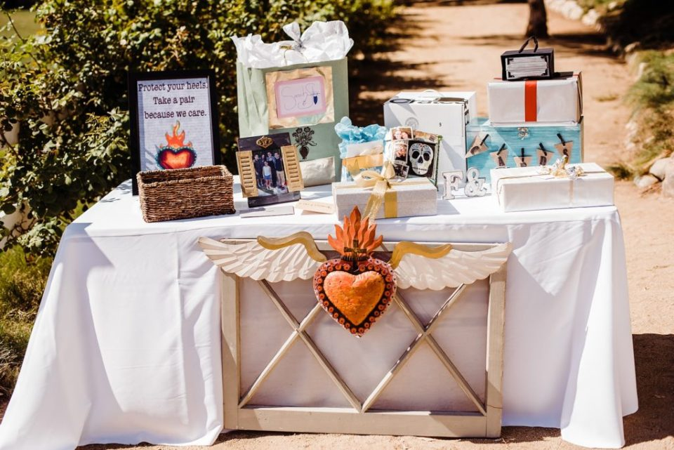 wedding welcome station