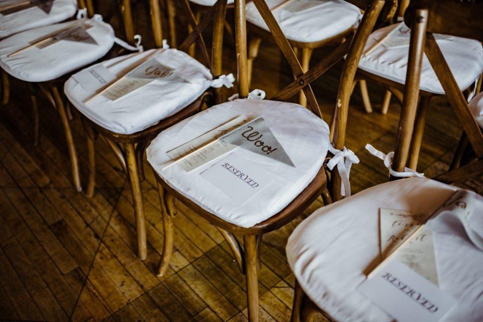 wedding ceremony at the metropolitan building in new york