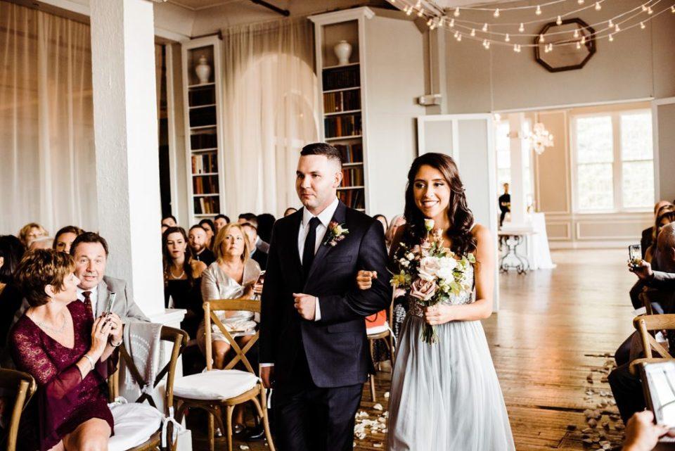 indoor wedding ceremony new york city
