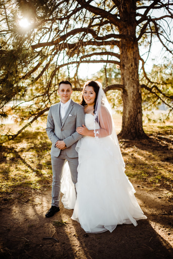 peterson afb wedding photos