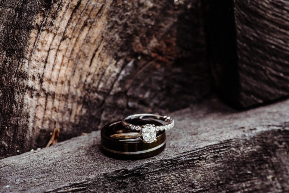 rings on wood