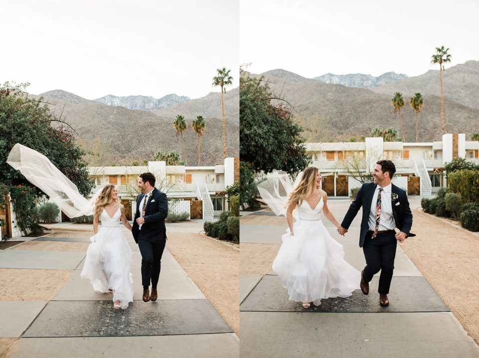 wedding photos at the ace hotel in palm springs