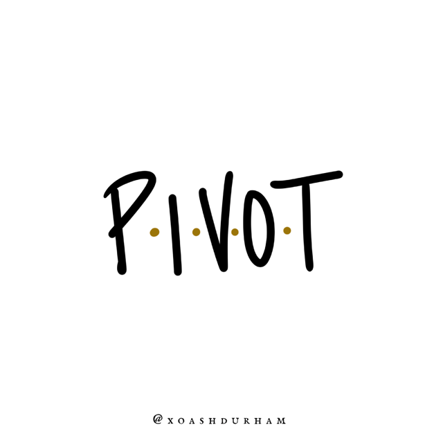 pivot quote from friends