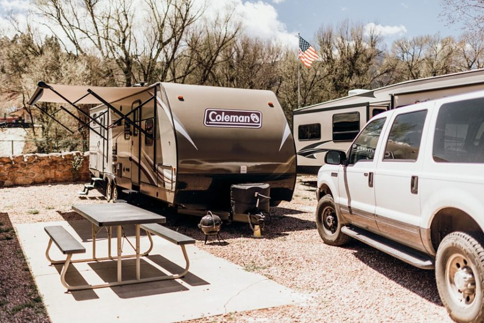 Tour of our Coleman RV