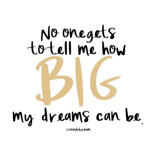 quotes for big dreams, what to say to negative nancy's in your life