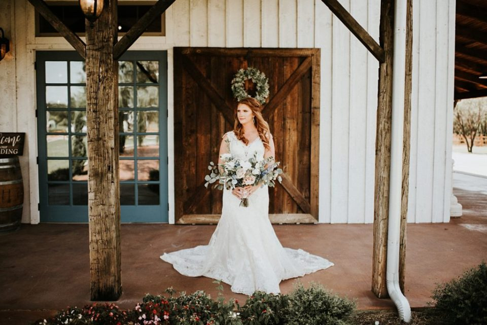 bridal portraits at deerfield estates