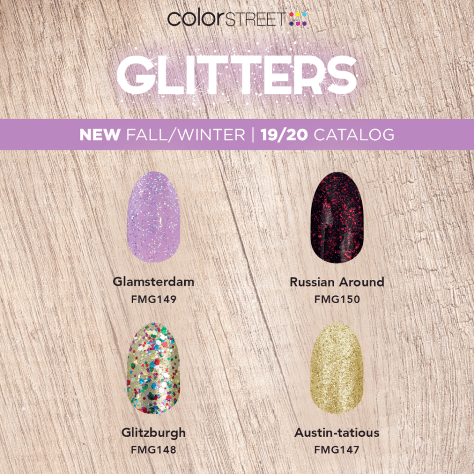 Fall 2019 Glitters from Color Street
